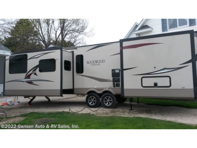 Used 2018 Forest River Rockwood Signature Ultra Lite 8335BSS available in Riceville, Iowa