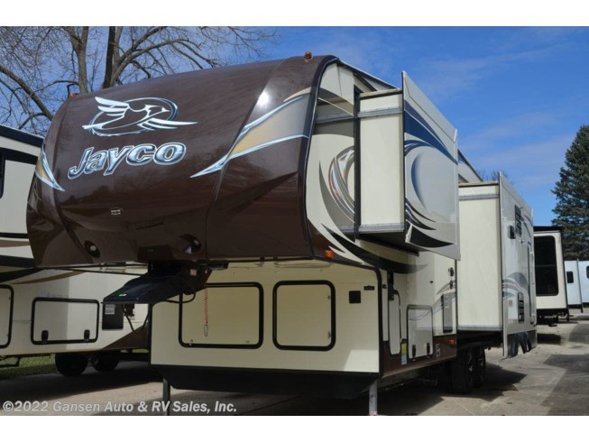 2015 Jayco Eagle Touring Edition 28.5RLTS - Used Fifth Wheel For Sale by Gansen Auto & RV Sales, Inc. in Riceville, Iowa