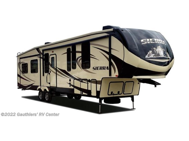 2018 Forest River Sierra 384QBOK