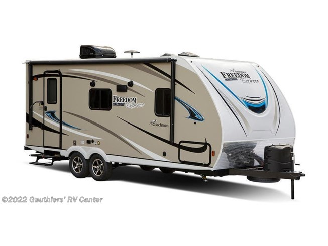 Stock Image for 2018 Coachmen Freedom Express 320BHDS (options and colors may vary)