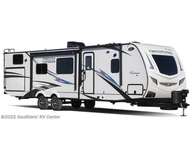 Stock Image for 2020 Coachmen Freedom Express Liberty Edition 320BHDSLE (options and colors may vary)