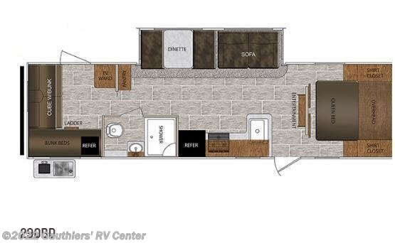 2021 Tracer 29QBD by Prime Time from Gauthiers' RV Center in Scott, Louisiana