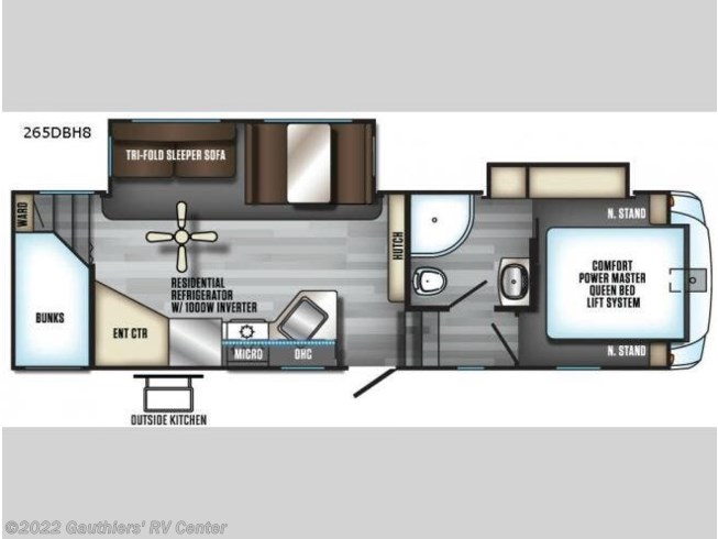 2018 Forest River Cherokee Arctic Wolf - Used Fifth Wheel For Sale by Gauthiers' RV Center in Scott, Louisiana