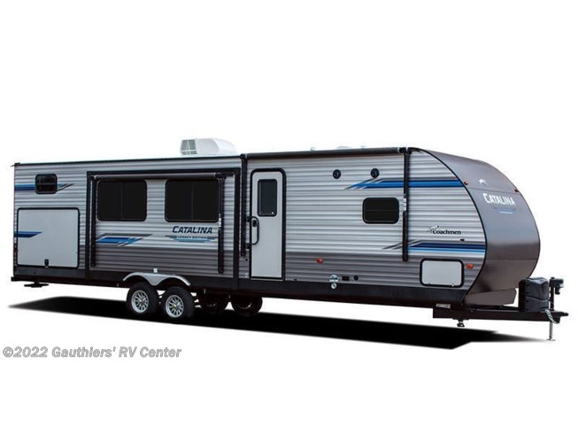Stock Image for 2021 Coachmen Catalina Legacy Edition 293QBCK (options and colors may vary)