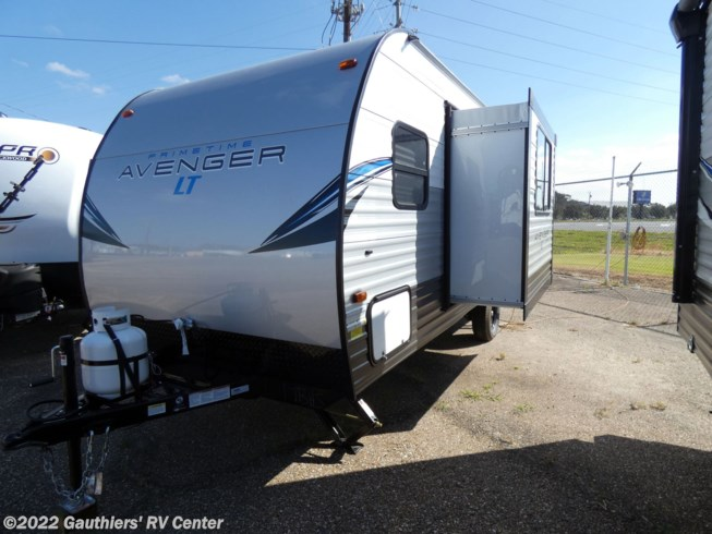 2021 Prime Time Avenger LT 17BHS - New Travel Trailer For Sale by Gauthiers' RV Center in Scott, Louisiana features Water Heater, Booth Dinette, Refrigerator, CO Detector, Leveling Jacks