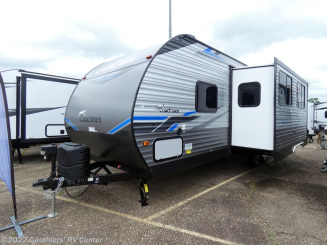 2021 Coachmen Catalina Legacy Edition 263BHSCKLE - New Travel Trailer For Sale by Gauthiers' RV Center in Scott, Louisiana features Shower, Exterior Speakers, Awning, DVD Player, Slideout