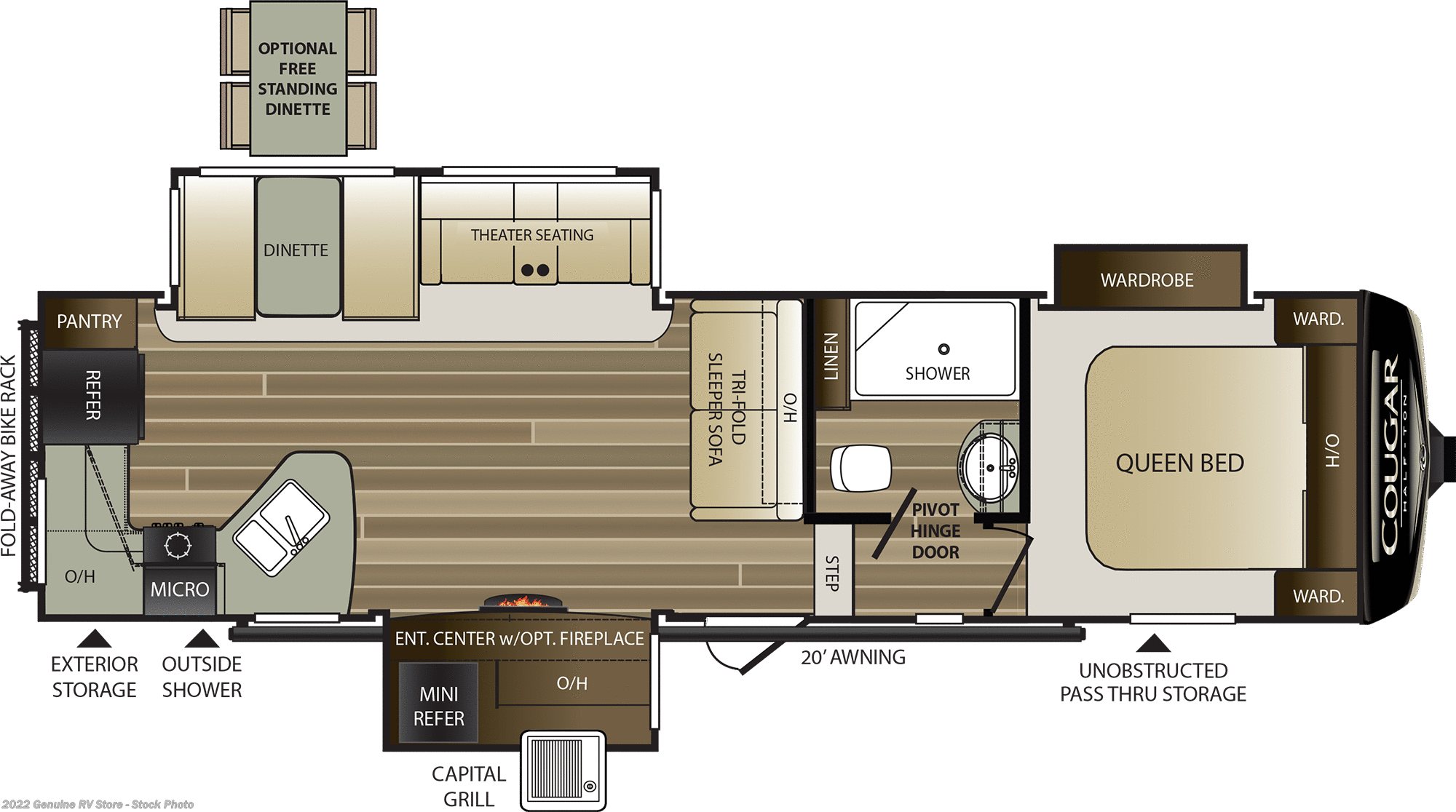 2019 Keystone Rv Cougar 29rks For Sale In Nacogdoches Tx 75964 Stove Wiring Diagram Previous