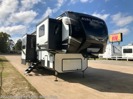 <p><strong>2021 Avalanche 382FL 5th Wheel Trailer... Five (5) Slide Outs</strong></p>