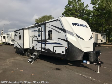 <p><strong>2021 Keystone Bullet Premier 30RIPR Travel Trailer...</strong></p>