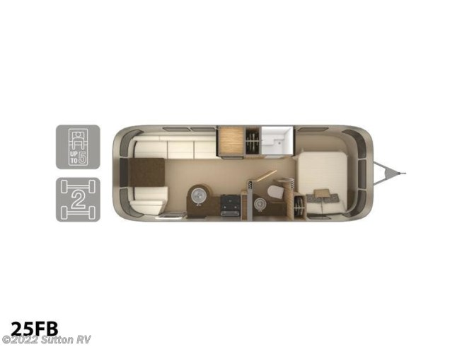 2019 Airstream Flying Cloud 25FB - New Travel Trailer For Sale by Sutton RV in Eugene, Oregon