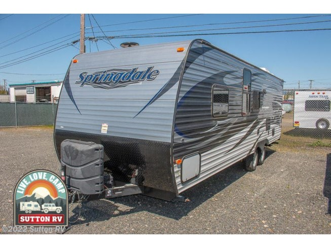 2016 Springdale 260TBWE by Keystone from Sutton RV in Eugene, Oregon