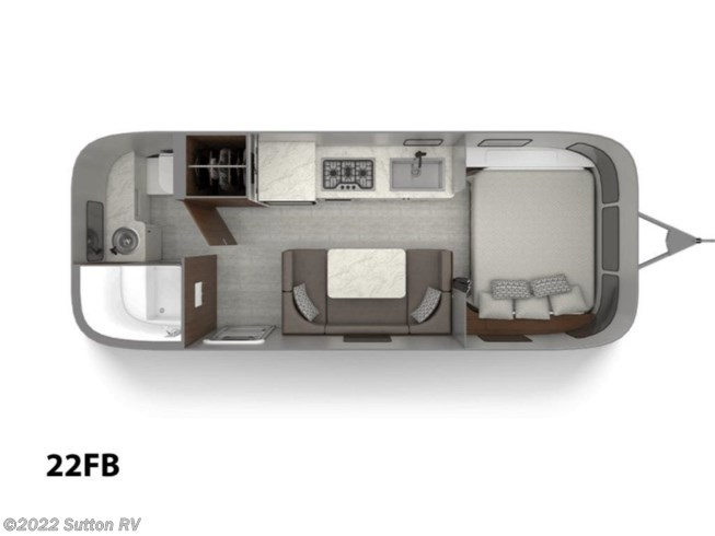 2020 Airstream Caravel 22FB - New Travel Trailer For Sale by Sutton RV in Eugene, Oregon