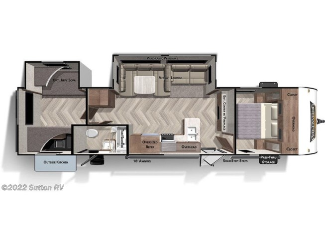 New 2021 Forest River Wildwood 32BHDS available in Eugene, Oregon