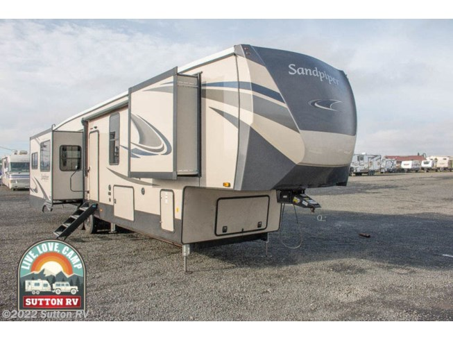 New 2021 Forest River Sandpiper Luxury 368FBDS available in Eugene, Oregon