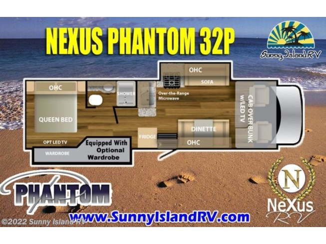 2018 Nexus 32P - New Class C For Sale by Sunny Island RV in Rockford, Illinois
