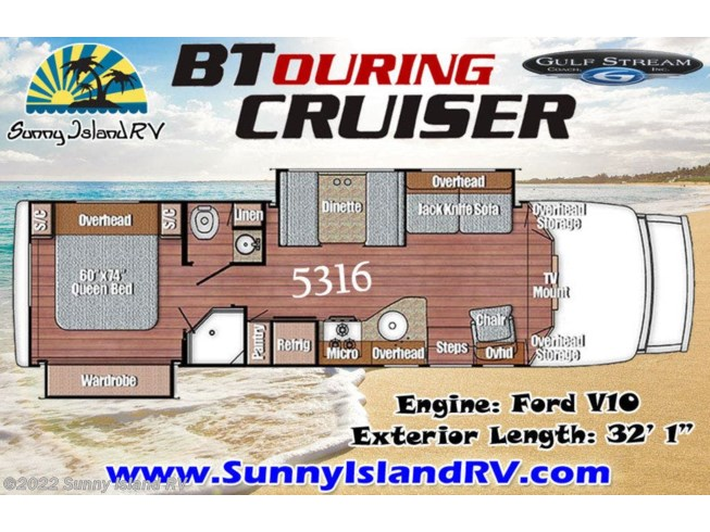 2018 Gulf Stream 5316 - New Class C For Sale by Sunny Island RV in Rockford, Illinois