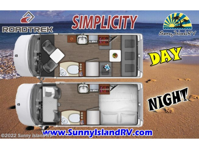 2018 Roadtrek Simplicity - Used Class B For Sale by Sunny Island RV in Rockford, Illinois