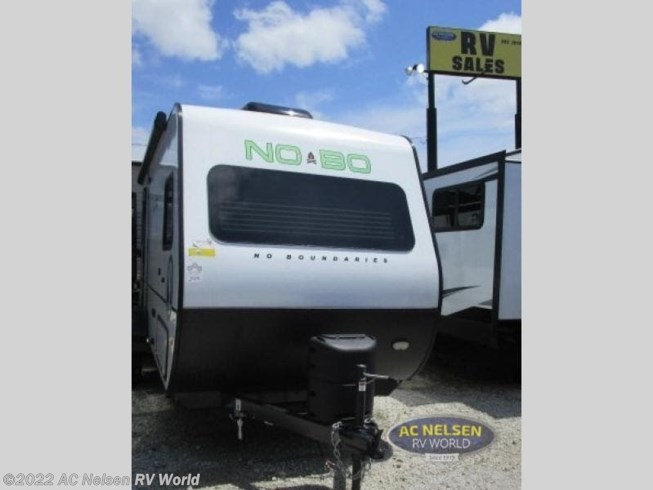 2019 Forest River No Boundaries NB16.7 - New Travel Trailer For Sale by AC Nelsen RV World in Omaha, Nebraska features Slideout