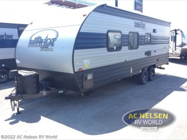 2021 Patriot Edition 24JS by Forest River from AC Nelsen RV World in Omaha, Nebraska