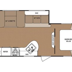 2017 Dutchmen Aspen Trail 2810BHS floorplan image