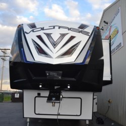 2018 Dutchmen Voltage V3605  - Toy Hauler New  in Milford DE For Sale by Delmarva RV Center call 800-843-0003 today for more info.