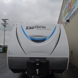 2019 Coachmen Freedom Express 246RKS  - Travel Trailer New  in Milford DE For Sale by Delmarva RV Center call 800-843-0003 today for more info.