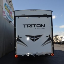 Delmarva RV Center 2018 Voltage Triton 3551  Toy Hauler by Dutchmen | Milford, Delaware