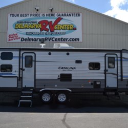 New 2019 Coachmen Catalina 273BH For Sale by Delmarva RV Center available in Milford, Delaware