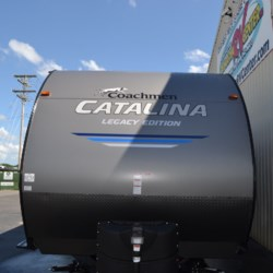 2019 Coachmen Catalina 273BH  - Travel Trailer New  in Milford DE For Sale by Delmarva RV Center call 800-843-0003 today for more info.