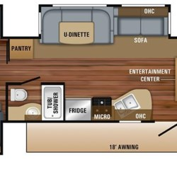 2018 Jayco Jay Flight 32TSBH floorplan image