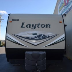 2015 Skyline Layton 287RB  - Travel Trailer Used  in Milford DE For Sale by Delmarva RV Center call 800-843-0003 today for more info.