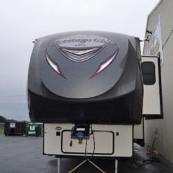 2018 Forest River Wildwood Heritage Glen LTZ 356QB  - Fifth Wheel Used  in Milford DE For Sale by Delmarva RV Center call 800-843-0003 today for more info.