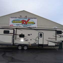 Used 2018 Forest River Wildwood Heritage Glen LTZ 356QB For Sale by Delmarva RV Center available in Milford, Delaware