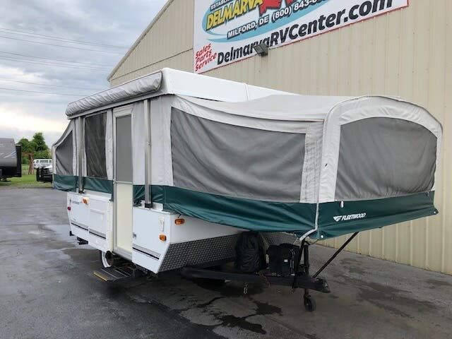 2008 Fleetwood Yuma - Used Popup For Sale by Delmarva RV Center in Milford, Delaware
