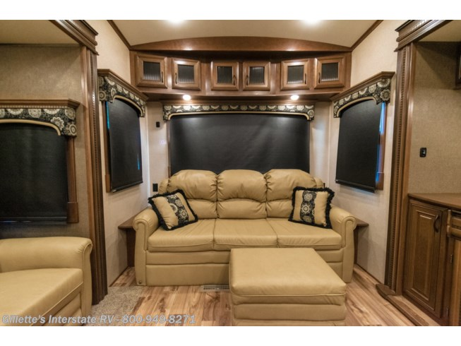 2016 Pinnacle 36FBTS - Used Fifth Wheel For Sale by Gillettes Interstate RV    ~    Text/Call    ~  517-604-1908          in East Lansing, Michigan