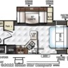 2018 Forest River Rockwood Mini Lite 2507S floorplan image