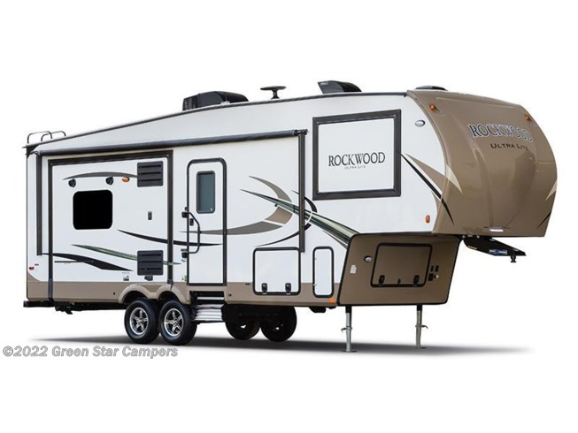 Stock Image for 2018 Forest River Rockwood Ultra Lite 2880WS (options and colors may vary)