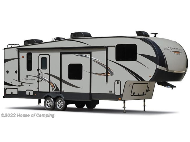Stock Image for 2019 Forest River Rockwood Signature Ultra Lite 8288BS (options and colors may vary)