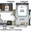 2018 Forest River Rockwood Windjammer 2715VS floorplan image