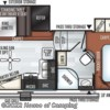 2019 Forest River Rockwood Ultra Lite 2441WS floorplan image