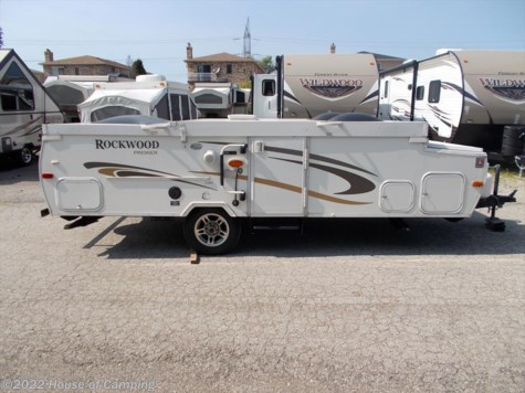 Used 2012 Forest River Rockwood Hard Side A128S For Sale by House of Camping available in Bridgeview, Illinois