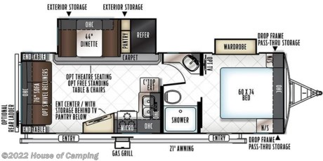 <p>ALL NEW FLOOR PLAN FEATURES FRONT BED ROOM WITH  REAR LIVING ROOM PRICE INCLUDES THE FOLLOWING EQUIPMENT.</p>