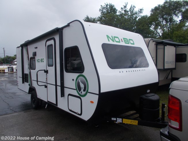 2019 Forest River No Boundaries NBT 19.7 - New Travel Trailer For Sale by House of Camping in Bridgeview, Illinois features 30 Amp Service, Air Conditioning, Alloy Wheels, Battery Charger, Black Tank Flush, Bunk Beds, Bunkhouse, CO Detector, Converter, Create-a-Breeze Fan, External Shower, Fiberglass Sidewalls, Furnace, Ladder, LED HDTV, LED Lights, Leveling Jacks, Microwave, Overhead Cabinetry, Pleated Shades, Power Awning, Propane, Queen Bed, Refrigerator, Screen Door, Self Contained, Shower, Skylight, Solar Prep, Spare Tire Kit, Stabilizer Jacks, Stove, Stove Top Burner, Tinted Windows, Toilet, TV, Wardrobe(s), Water Heater