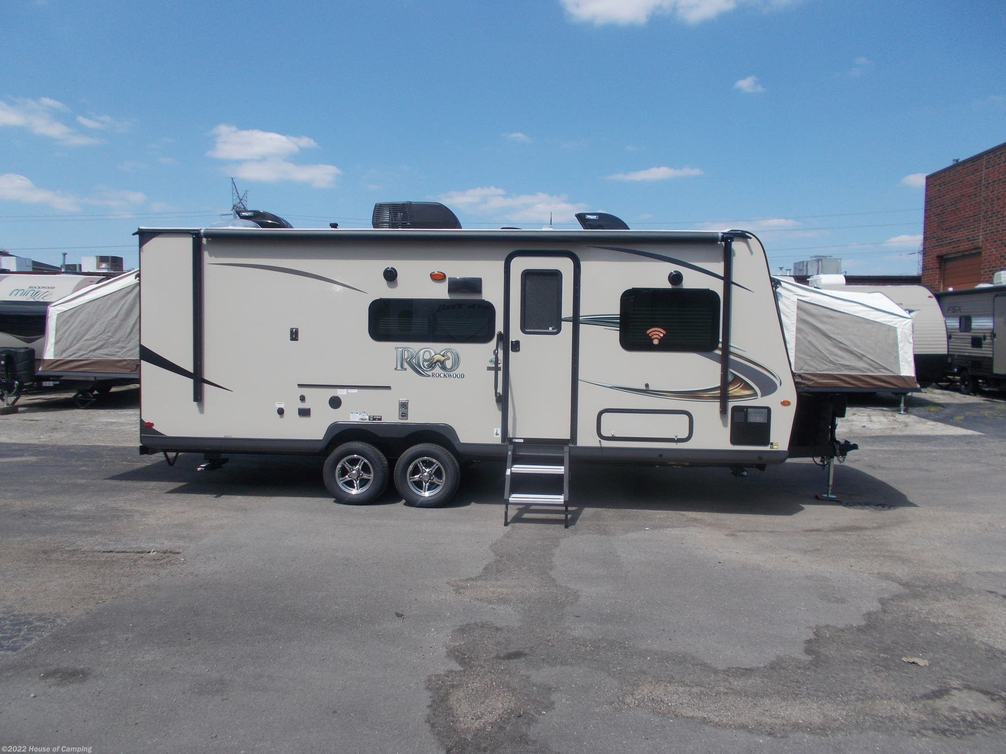 Rockwood Roo 233s >> R201921980 2019 Forest River Rockwood Roo 233s For Sale In