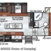 2019 Forest River Rockwood Ultra Lite 2888WS floorplan image
