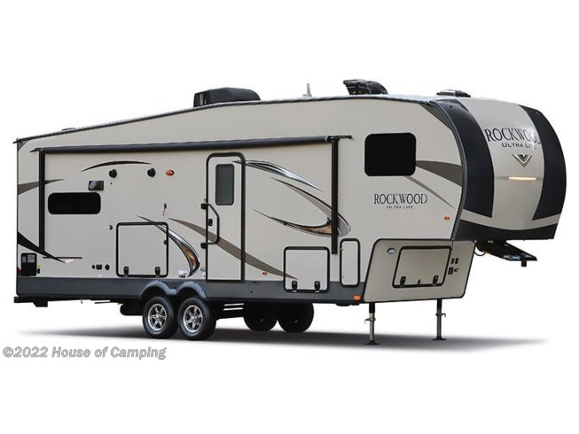 Stock Image for 2019 Forest River Rockwood Ultra Lite 2892RB (options and colors may vary)
