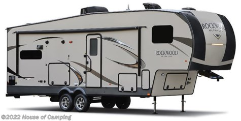 Stock Image for 2019 Forest River Rockwood Ultra Lite 2898KS (options and colors may vary)