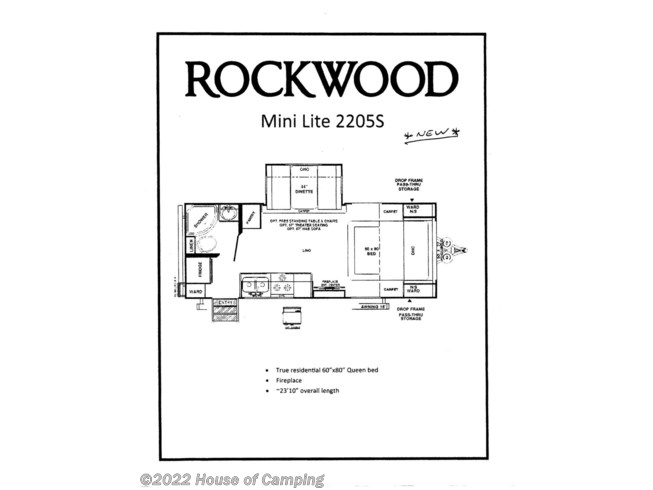 New 2021 Forest River Rockwood Mini Lite 2205S available in Bridgeview, Illinois