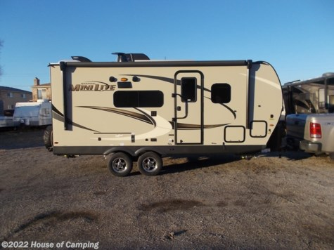 New 2021 Forest River Rockwood Mini Lite 2104S For Sale by House of Camping available in Bridgeview, Illinois