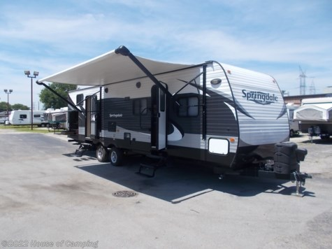 Used 2015 Keystone Springdale 303BHSSR For Sale by House of Camping available in Bridgeview, Illinois